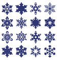 Snowflakes vector | Price: 1 Credit (USD $1)