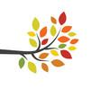 tree branch ilustration design vector image