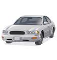 car sedan vector image