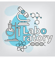 chemistry vector image