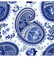Paisley colorful seamless pattern vector image vector image