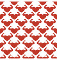 red strong hearts seamless pattern vector image vector image
