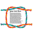 reef-knot vector image vector image