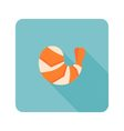 shrimp icon vector image