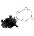 vienna map vector image