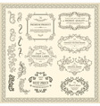 Vintage Design Elements vector image vector image