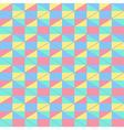Pastel seamless pattern vector image