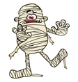 Creepy mummy vector image vector image