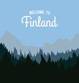 finland design vector image vector image