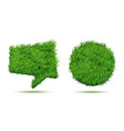 green grass background lawn field heart and vector image