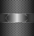 Metal Abstract Background vector image vector image