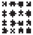 Puzzle set2 vector image vector image