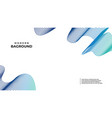 abstract banner bag round colors and lines in vector image vector image