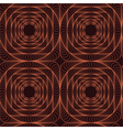 Abstract pattern with a tracery square figure vector image vector image