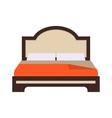 Double Bed I vector image vector image