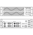 Outline stereo graphic professional equalizer
