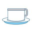 porcelain mug cup vector image vector image