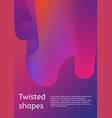 trendy minimal cover or poster design template vector image vector image