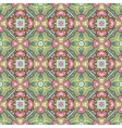Abstract festive colorful floral pattern vector image vector image