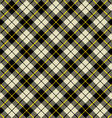 black and beige fabric texture diagonal pattern vector image vector image