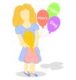 Happy Moms day vector image vector image