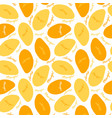 mango seamless pattern for your design vector image vector image
