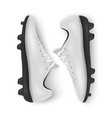 photo-realistic 3d white blank pair mens vector image