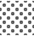 Processor pattern simple style vector image