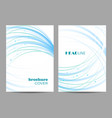 templates for brochure cover in a4 size vector image vector image