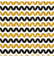 1960s style dot stripes seamless pattern vector image vector image
