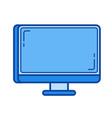 Desktop line icon
