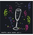 New year toast 2013 vector image vector image