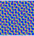 Ornament pattern in form waves vintage