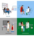 Pediatrician Design Concept vector image vector image
