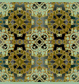 baroque seamless pattern tribal ethnic vector image vector image