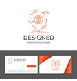 business logo template for transaction financial vector image