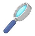 Magnify icon cartoon style vector image vector image