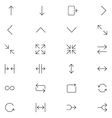 User Interface Icons 24 vector image vector image