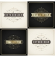 Vintage ornament golden and grunge style border vector image vector image
