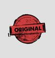 Original stamp badges vector image