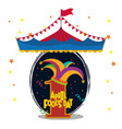 april fools day card design vector image vector image