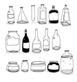 Bottles and Cans vector image vector image