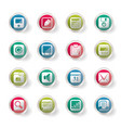 business office and finance icons vector image