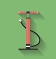 Car air pump icon Flat style vector image