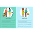 family parents motherhood vector image vector image
