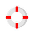 life saver wheel summer stuff icon design vector image vector image