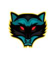 north american raccoon mascot vector image vector image
