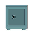 safe box icon image vector image vector image