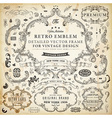 Vintage Labels Set vector image vector image