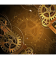 Abstract mechanical background vector image vector image